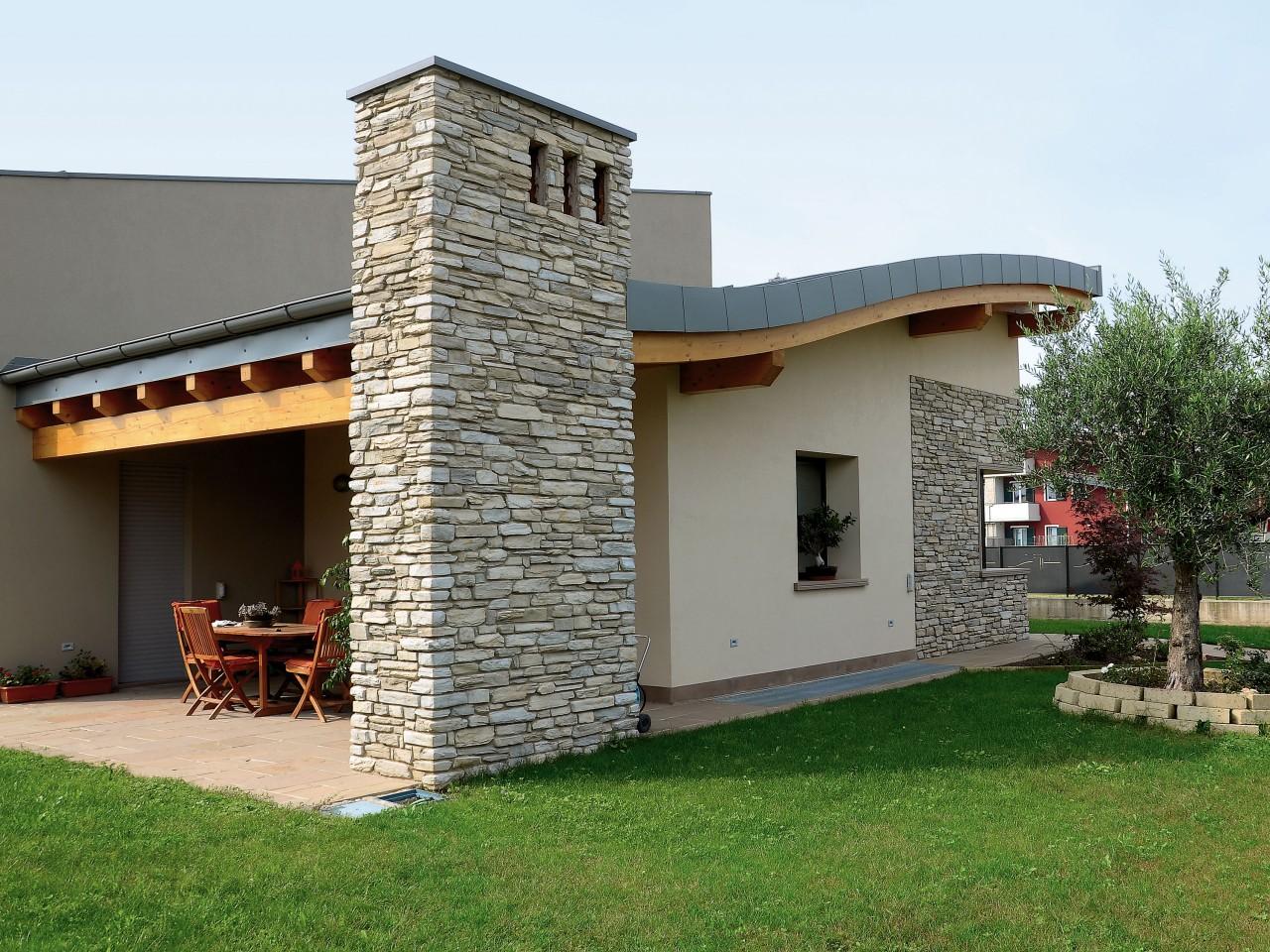 Rivestimento In Pietra Dwg : Rivestimento esterno in pietra dwg parete ventilata in cotto
