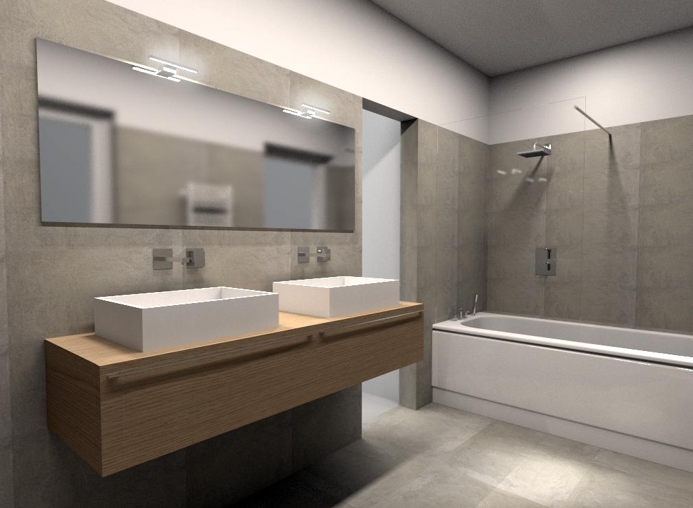 Piano lavabo sospeso bagno altezza scarico la scelta