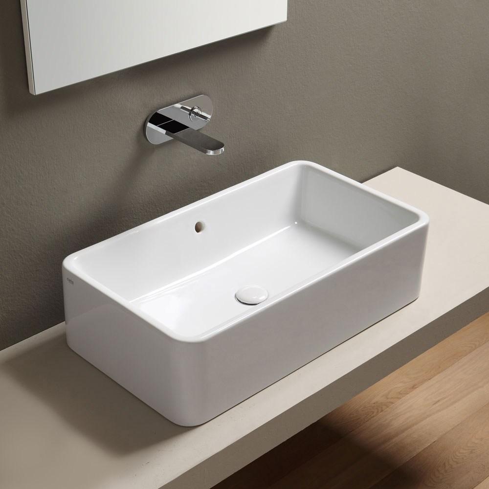 Sanitari e lavabi sinergy zero9 - Lavello bagno appoggio ...