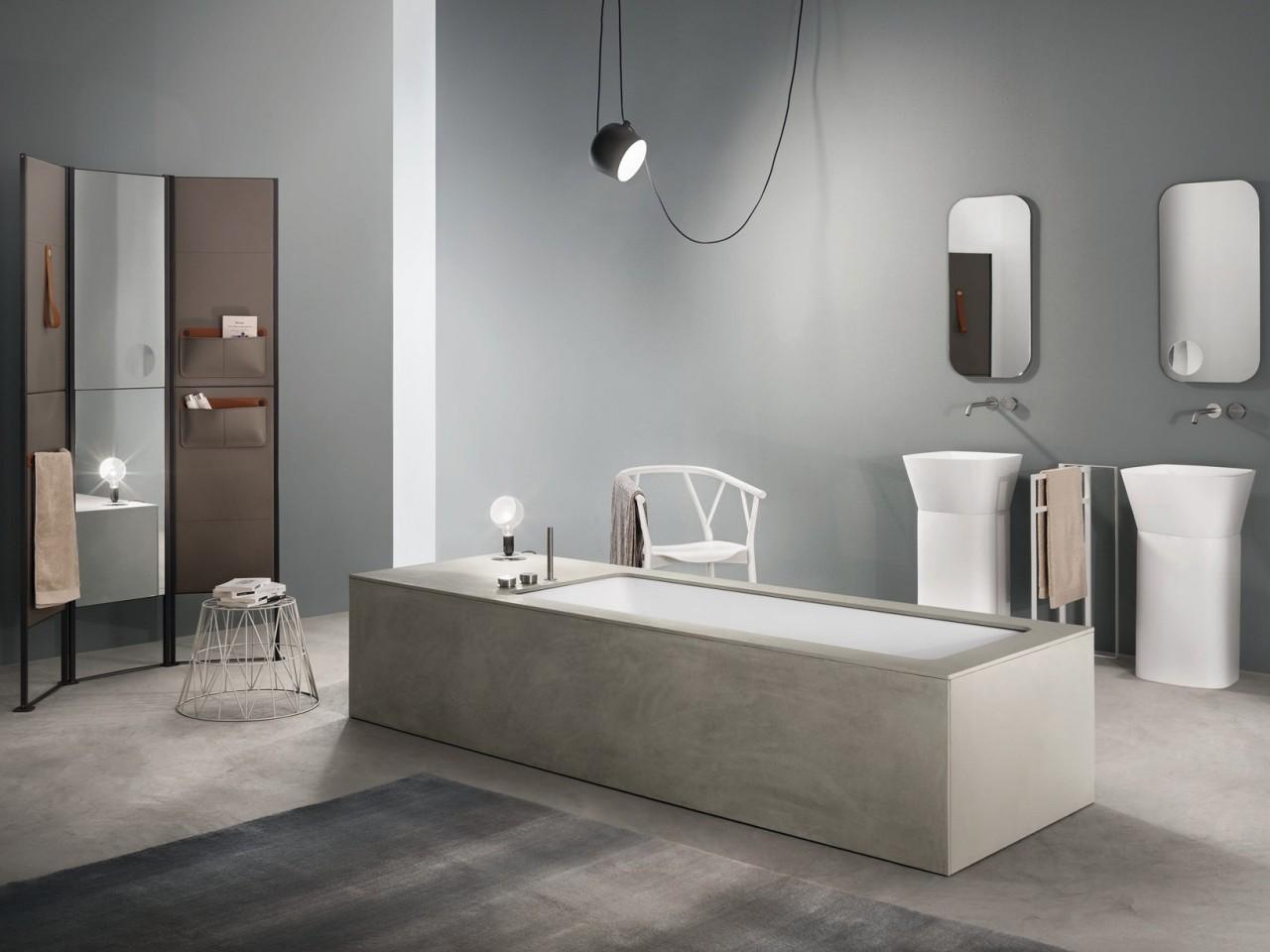 Vasche Da Bagno In Vetroresina Misure : Vasca da bagno in muratura e resina elementi per realizzare una